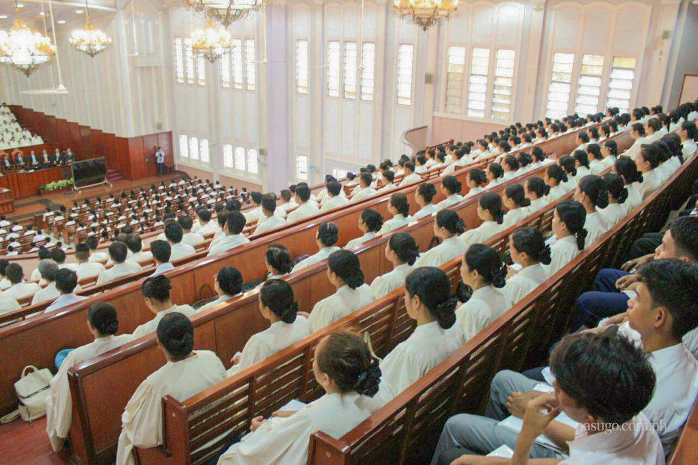 Church officers from the Ecclesiastical District of Bacolod City, Negros Occidental, Philippines convened at the house of worship of the Local Congregation of Bacolod City on May 19, 2019 to hear God's counsel.