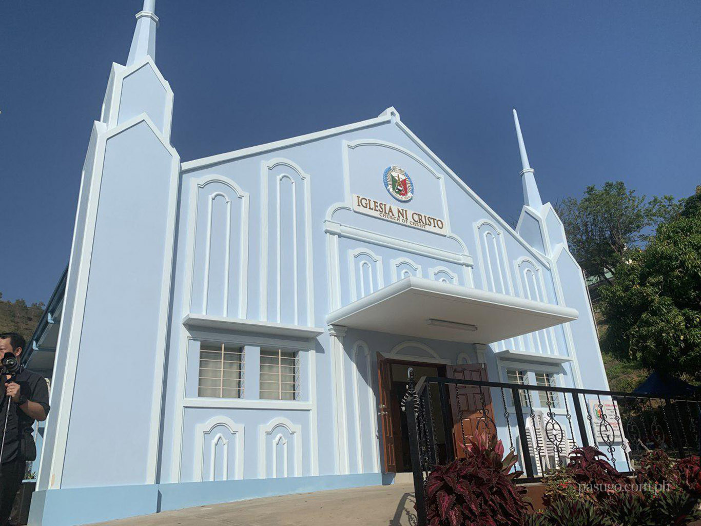 Port Moresby house of worship in Papua New Guinea dedicated to God on October 19, 2019