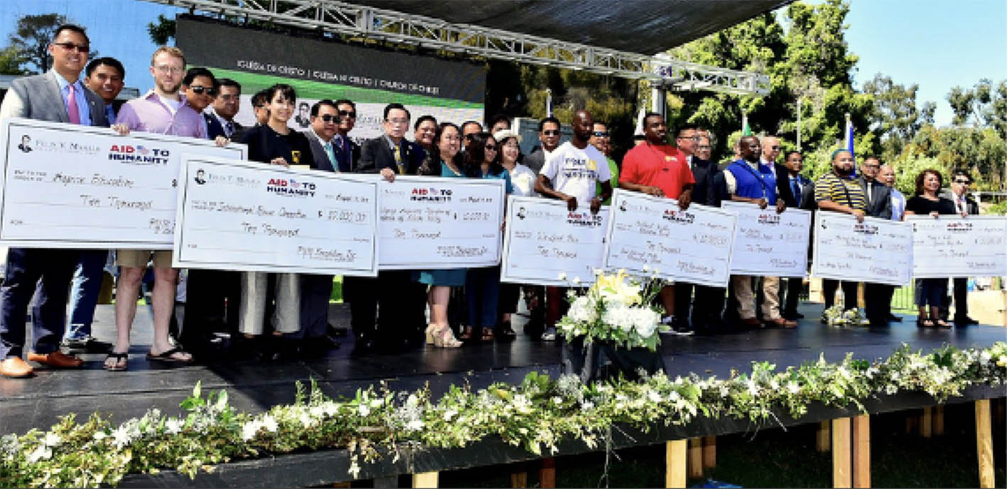 Local organizations from Oakland received $10,000 donation from FYM Foundation, Inc.