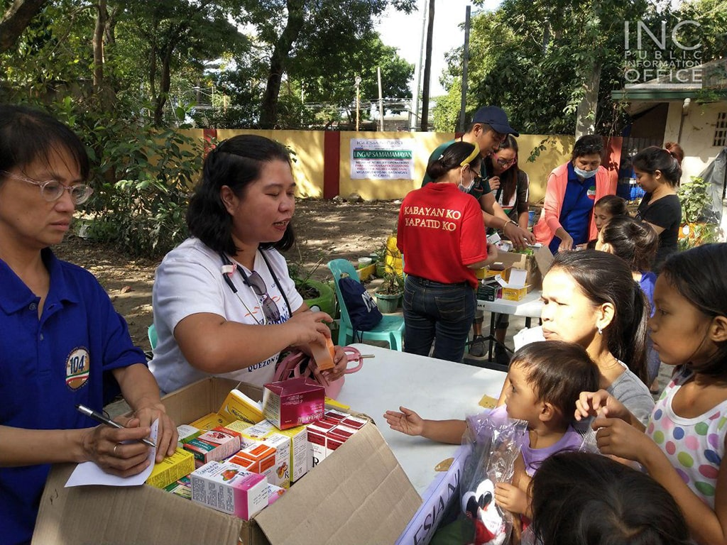 Relief Operations for Taal Victims Continue; Church Doing Its Part