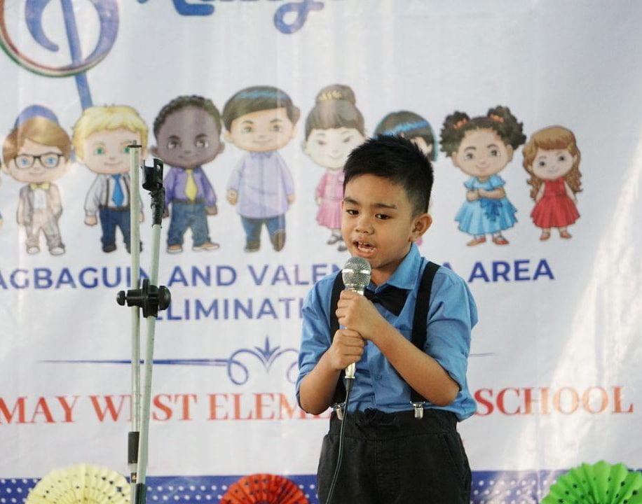 MMN children step up on stage for 'Himig ng Kaligtasan'