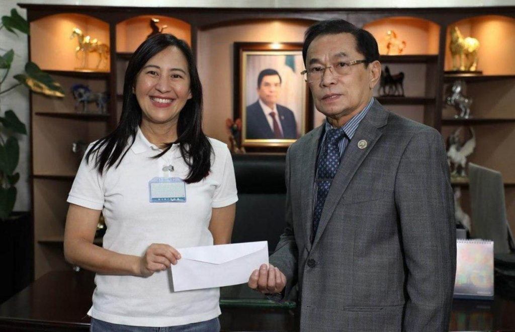 INC donates ₱5M to QC gov't for COVID-19 fight