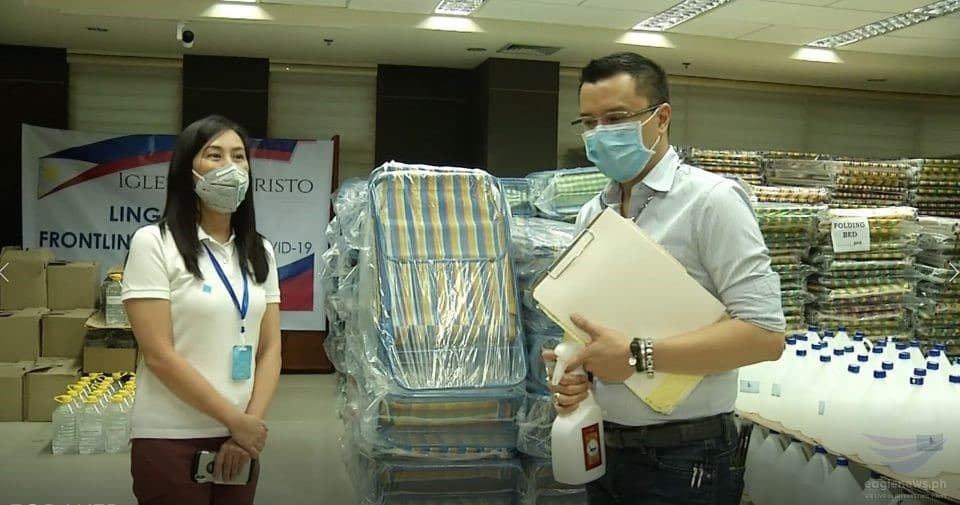 INC donates PhP13.2 million worth of PPEs, medical supplies to help QC hospitals, frontliners