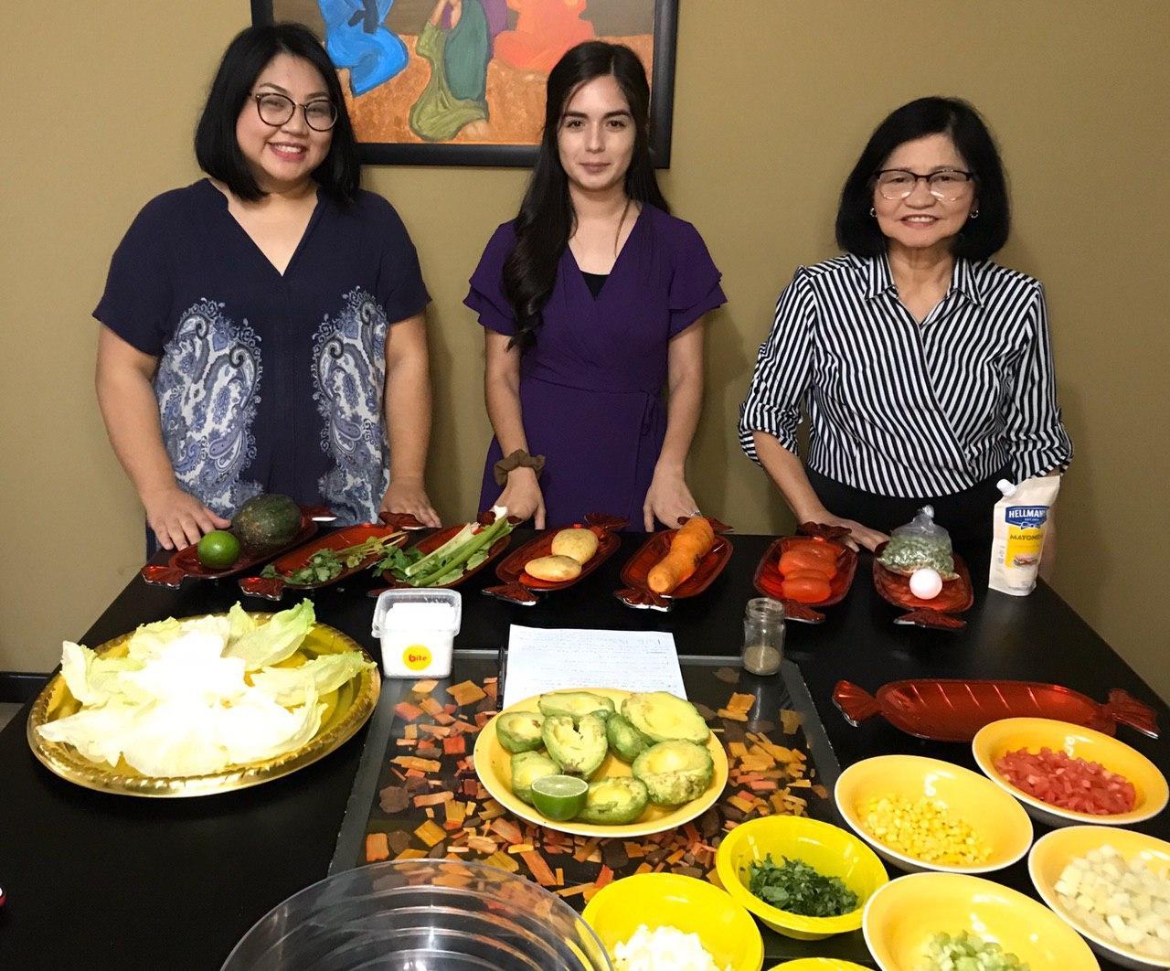 Latin America conducts cooking webinar series