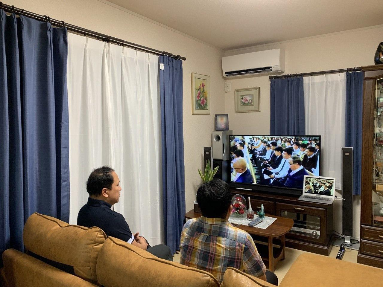 Districts in Japan hold online evangelical mission