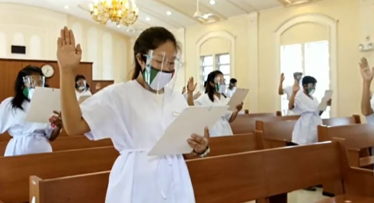 Church membership in Sorsogon keeps growing with series of baptisms