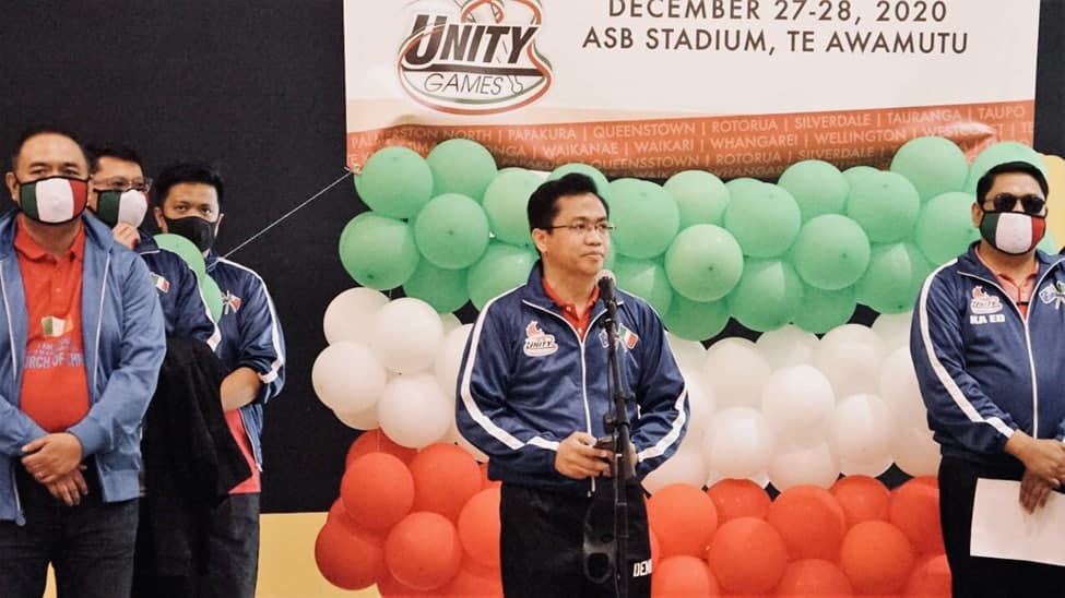 Brethren in New Zealand end the year through Unity Games