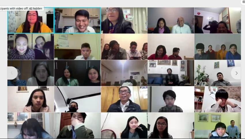 Southern Europe hold Tagisan ng Talino CWS and Family edition
