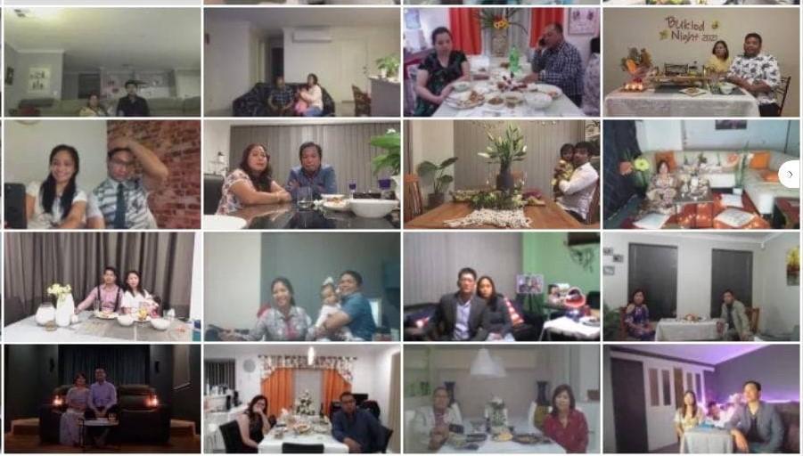 Married couples in Australia West enjoy Buklod Night Online