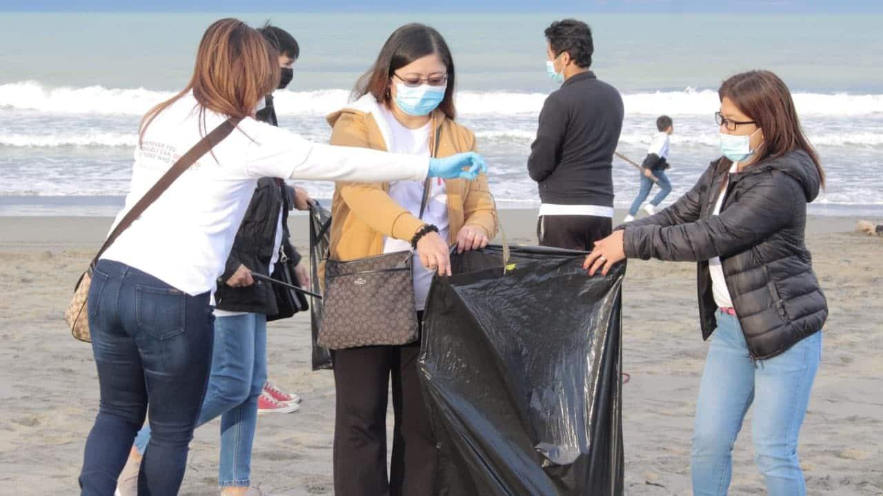 Christchurch brethren keep coastal areas clean
