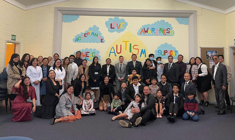 Adelaide Congregation advocates autism awareness