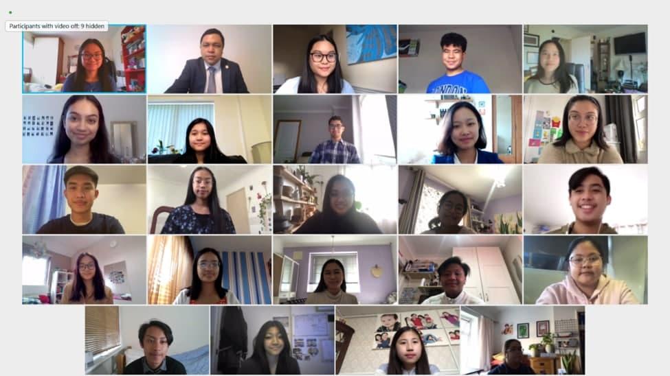United Kingdom CBI members study together online