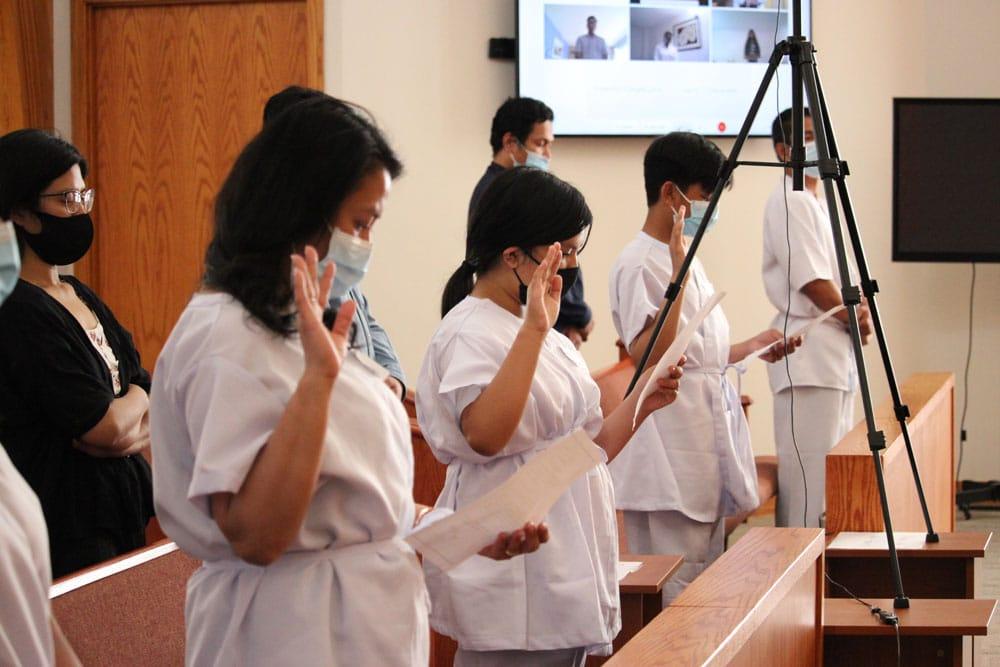 Manitoba holds simultaneous baptisms