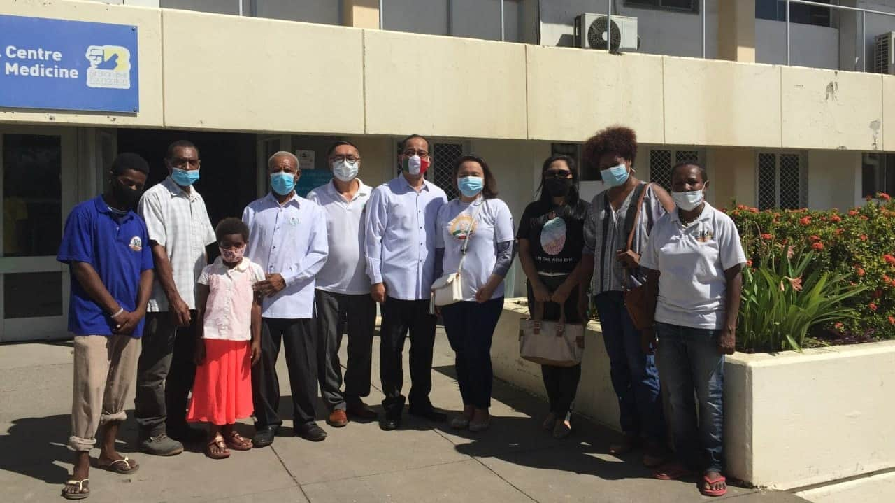 Aid to Humanity brings joy to kids, parents in Port Moresby hospital