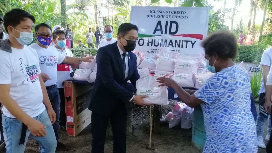 Lae City Congregation reaches out to Raincoast community