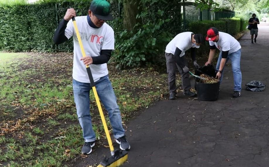 UK brethren promote environmental awareness, cleanliness