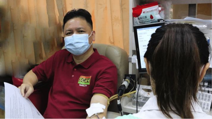 Taiwan SCAN leads blood donation