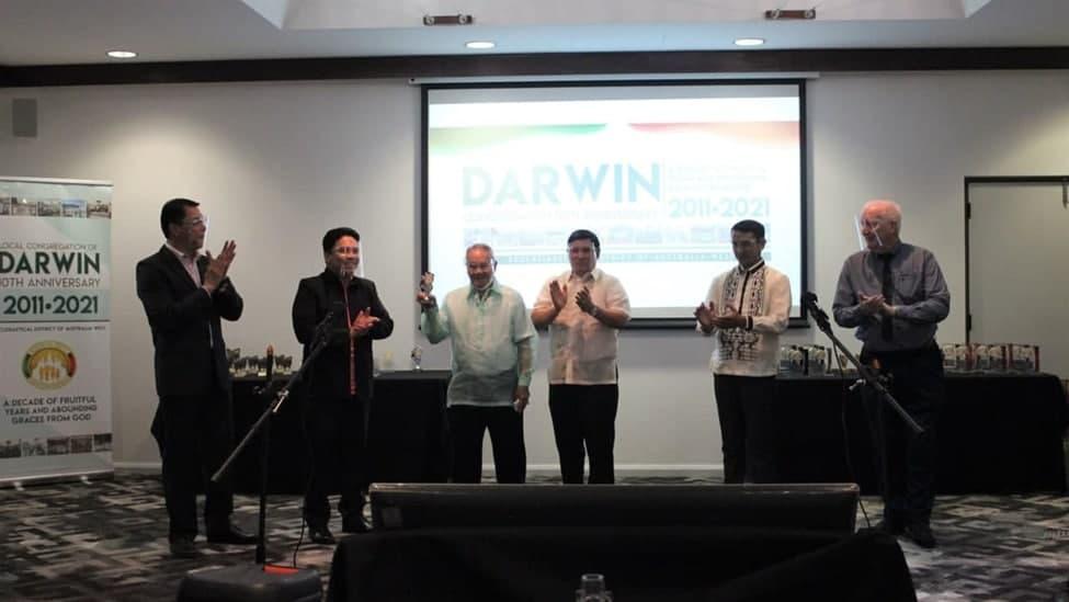 Darwin Congregation celebrates 10th year