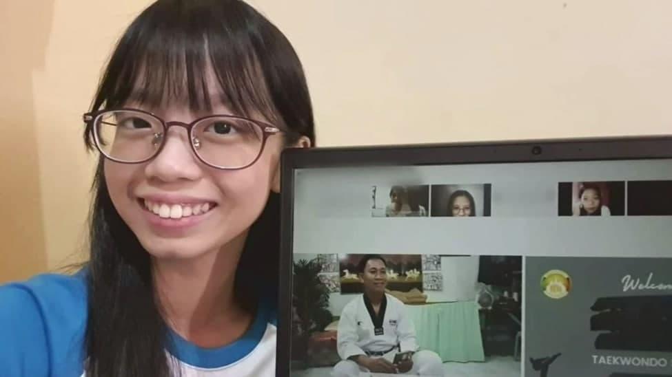 Metro Manila East CBI members attend Taekwondo webinar
