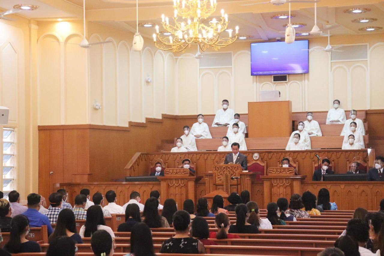 Sagay City brethren thankful for refurbished house of worship