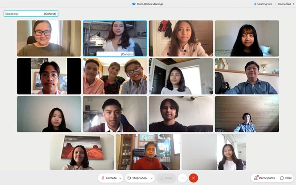 Sign language webinar brings together Binhi members in Northern Europe
