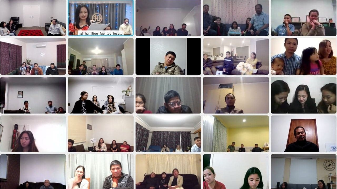 Hamilton NZ Congregation commemorates anniversary