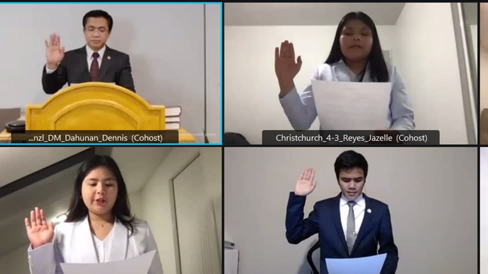 Additional CWS teachers take oath in New Zealand District