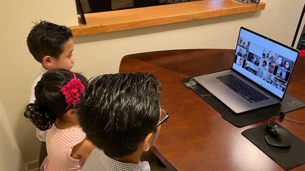 Virtual gathering brings joy to CWS members, parents in South Korea