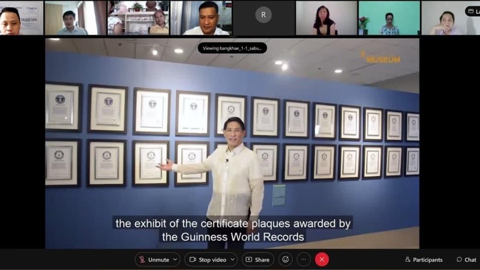 Thailand Buklod members take virtual tour of INC Museum