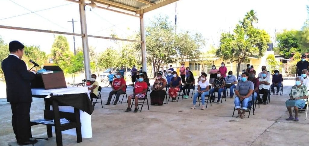 Monterrey GWS conducts outreach-evangelical mission in Tamaulipas, Mexico